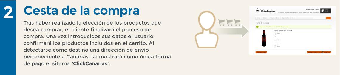 ClickCanarias Paso 2