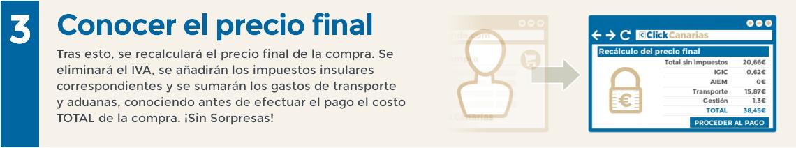 ClickCanarias Paso 3